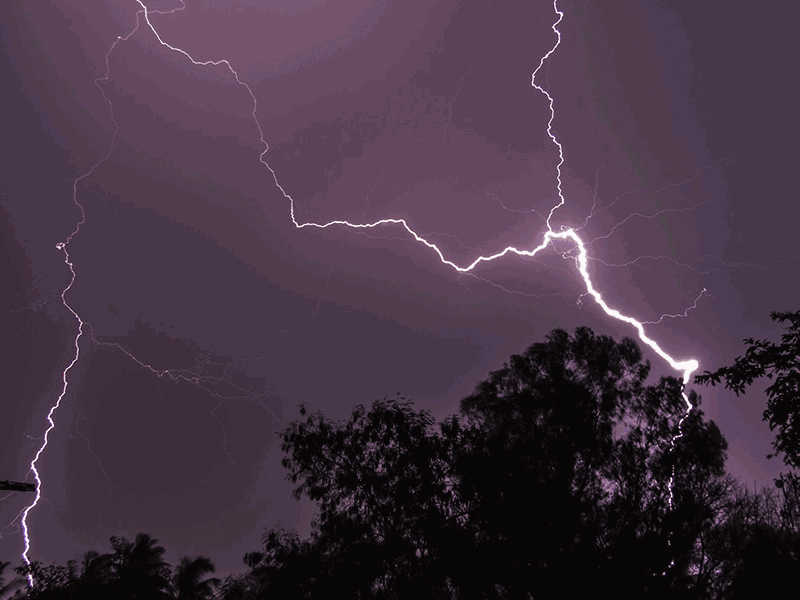 Striking Back at Lightning  With Lasers