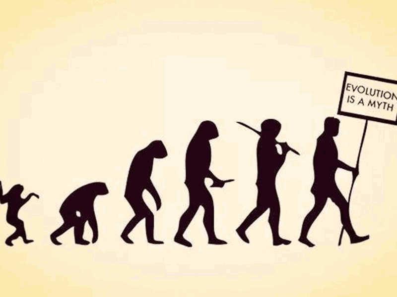 When Evolution Runs Backwards